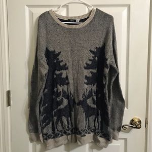 Urban Outfitters BDG Reindeer Sweater
